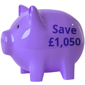 monthly save piggy bank