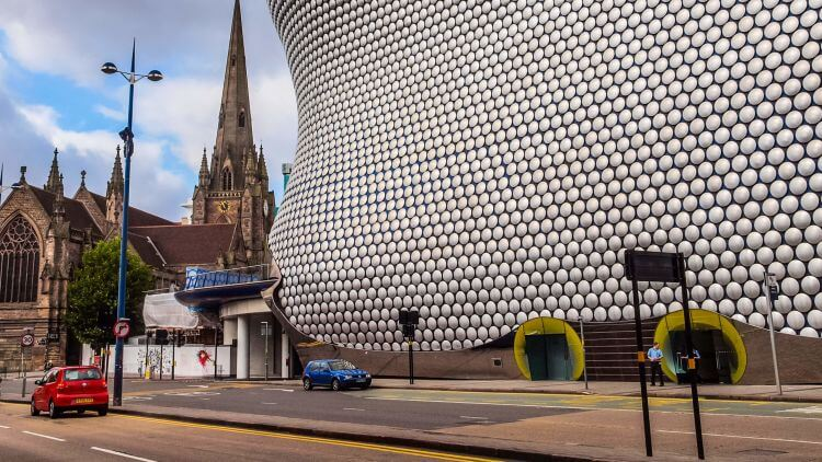 Driverless Britain: Concept of Birmingham with driverless buses