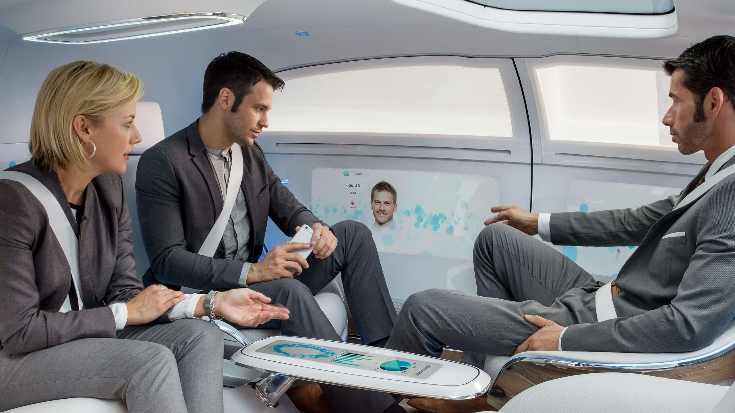 Mercedes-Benz concept autonomous car