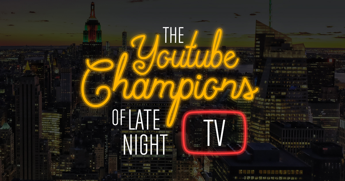 a5daeb1974b The YouTube Champions of Late Night TV - Confused.com