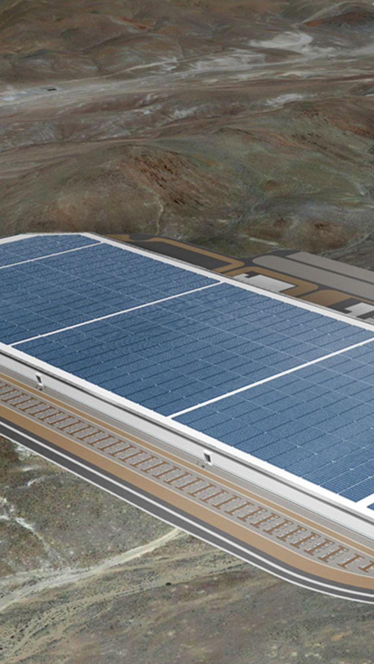 Tesla Gigafactory concept