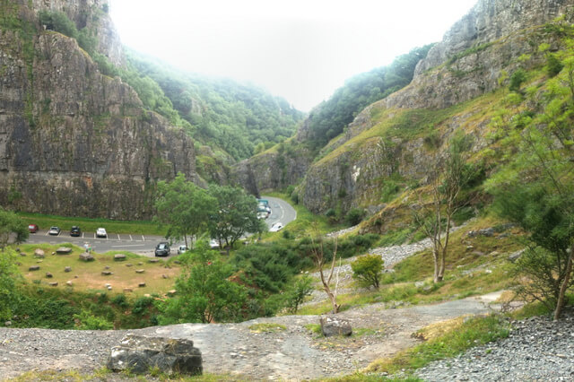 Photograph of Cheddar Gorge