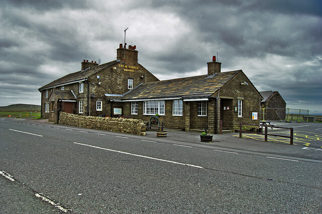 Photograph of the Cat and Fiddle