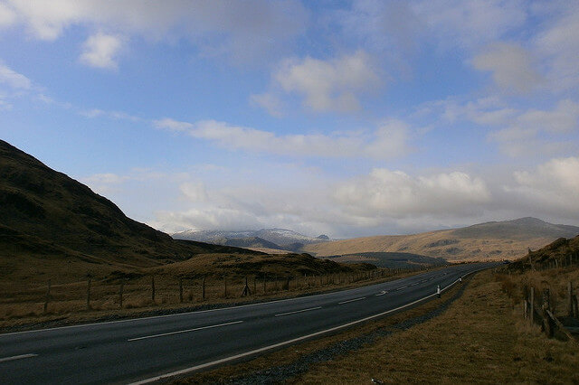 Photograph of Welsh Route 66